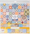 ScrapBerry\u0027s Mediterranean Dreams Paper Pack 12\u0022X12\u0022-8 Double-Sided