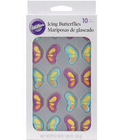 Wilton® Royal Icing Decorations-Butterfly, , hi-res