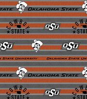 "Oklahoma State Cowboys Fleece Fabric 58""-Polo Stripe, , hi-res"