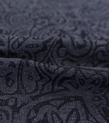 "Sportswear Denim Fabric 57""-Paisley"