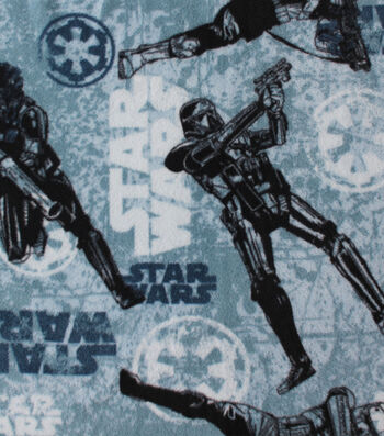 "Star Wars™ Rogue One Fleece Fabric 58""-Imperial Texture"