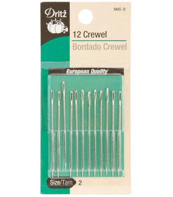 Dritz® Crewel Hand Needles-Size 2 12/Pkg
