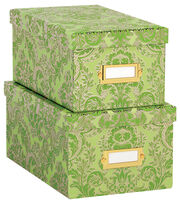 Anna Griffin Green Solid Nesting Boxes, , hi-res
