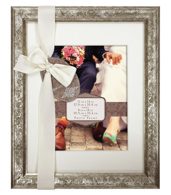 Wall Frame 11X14 To 8X10-Champagne Shimmer