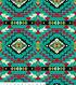 Anti Pill Fleece Fabric 58\u0027\u0027-Geometric Southwest