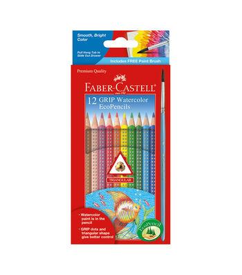 12 Ct Watercolor Grip Eco-Pencils