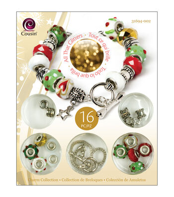 Christmas Trinket Bead Kit-Star