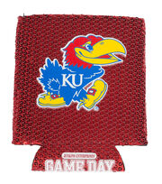 University of Kansas Sequin Koozie, , hi-res