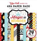 Double-Sided Paper Pad 6\u0022X6\u0022-Magic & Wonder