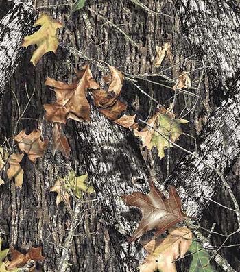 """Mossy Oak Fleece Fabric 60""""-Breakup"""