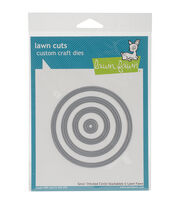 Lawn Fawn Lawn Cuts Custom Craft Die -Small Stitched Circle Stackables, , hi-res