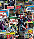 Star Wars™ Cotton Fabric 44\u0027\u0027-Comic Book Covers