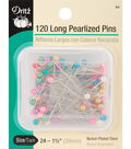Prym Dritz Extra Long Pearlized Pins Size 24