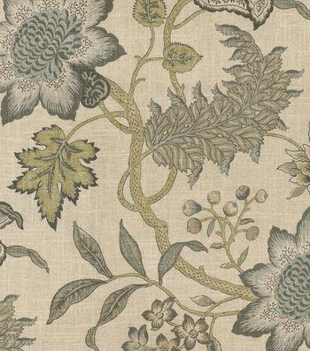 "Waverly Upholstery Fabric 54""-Jacobean Flair Vermeil"