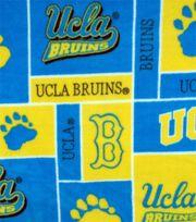 University of California, Los Angeles Bruins Fleece Fabric 58''-Block, , hi-res