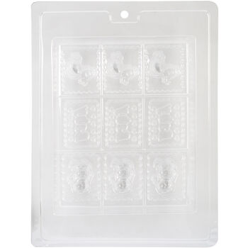 Life Of The Party Soap Tray Mold Baby