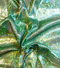 Halloween Fabric-Fabric-Lizard Foil Green