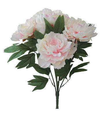 "Bloom Room 19.5"" Peony Bush-Pink"