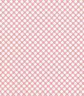 Quilter\u0027s Showcase Cotton Fabric 44\u0027\u0027-Sugar Coral Linked Floral on White