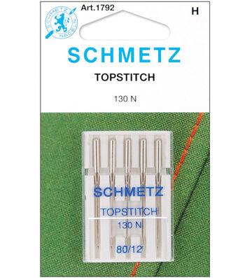 Schmetz Topstitch Machine Needles 5/Pk-Size 12/80