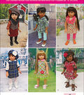 Simplicity Patterns Us1089Os-Simplicity Doll Clothes For 18 Dolls-One Size