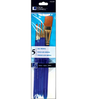 Taklon Craft Brush Set-5/Pk, , hi-res