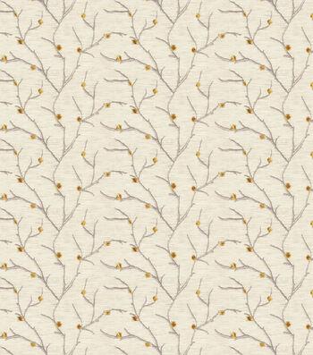 "Eaton Square Sheer Fabric 51""-Remedy/Goldleaf"
