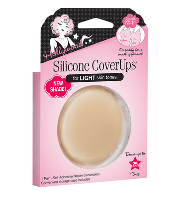 Hollywood Fashion Secrets Silicone Cover Ups-Light