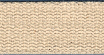 "Cotton Belting 1"" Wide 10 Yards-Natural"