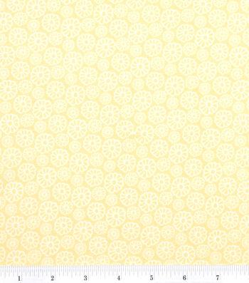 "Keepsake Calico™ Cotton Fabric 43""-Bright Daisy"
