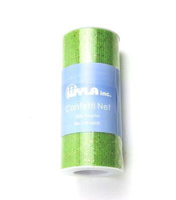 Wyla® Confetti Net Spool 6''x10 yds