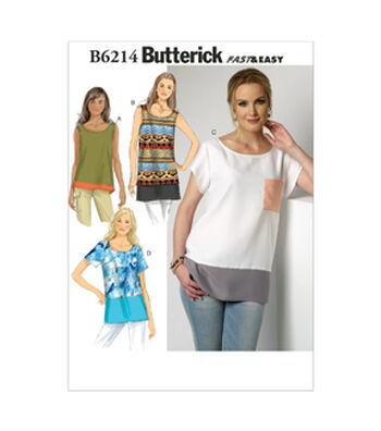 Butterick Misses Top-B6214