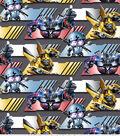 Transformers Movie Cotton Fabric 43\u0022-Autobot Strong