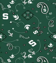 "Michigan State University Spartans Cotton Fabric 43""-Bandana, , hi-res"