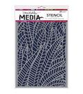 Ranger® Dina Wakley Media 6\u0027\u0027x9\u0027\u0027 Stencils-Jungle