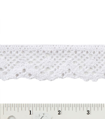 "1-7/16"" Spider Cluny Lace"