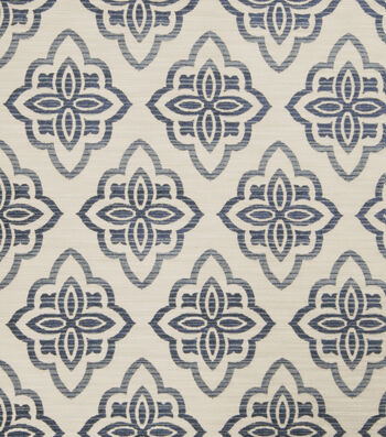 "Jaclyn Smith Upholstery Fabric 53""-Accurate/Indigo"