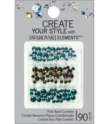 Create Your Style 90 pk Swarovski Elements Flat Back Combo