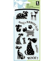 Inkadinkado Clear Stamps-Dogs, , hi-res