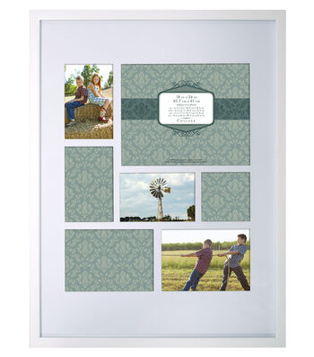 Wall Frame 18X24-Gallery Collage White