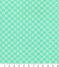 Quilters Showcase Cotton Fabric-Butterfly Aqua