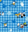 Disney Mickey Mouse Flannel Fabric 42\u0022-Outdoor Fun