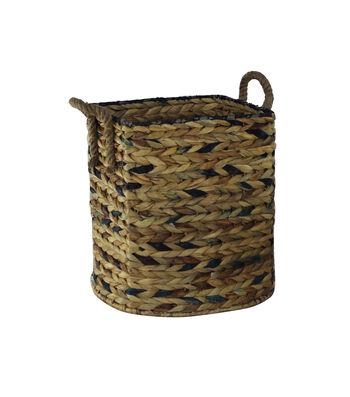 Idea Market Hand-Done Small Water Hyacinth Storage Basket