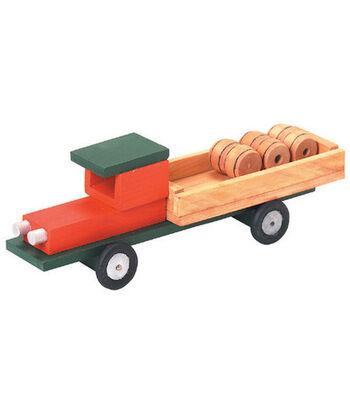 Darice Wood Model Kit-Pick Up Truck