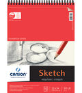 Proart-Canson Foundation Sketch Pad Wire Bound 11\u0022X14\u0022 50 Pages