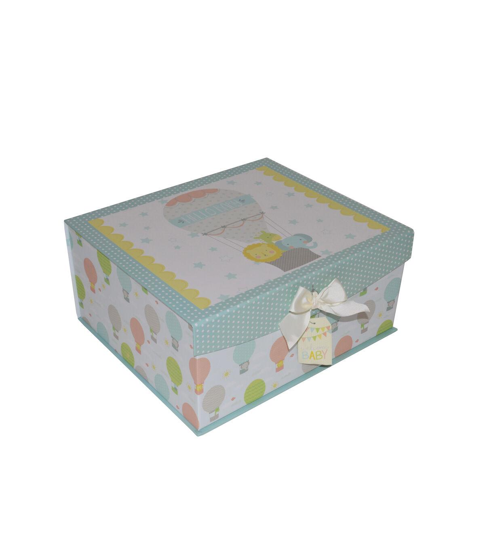 Superb Organizing Essentials™ Medium Flip Top Box Welcome Baby