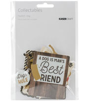 Kaisercraft Pawfect Collectables Cardstock Die-Cuts-Dog, , hi-res