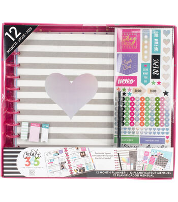 Create 365 Planner Box Kit-Rainbow Foil