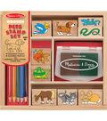 Pets -wooden Stamp Set