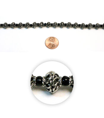Spiral Metal Beads